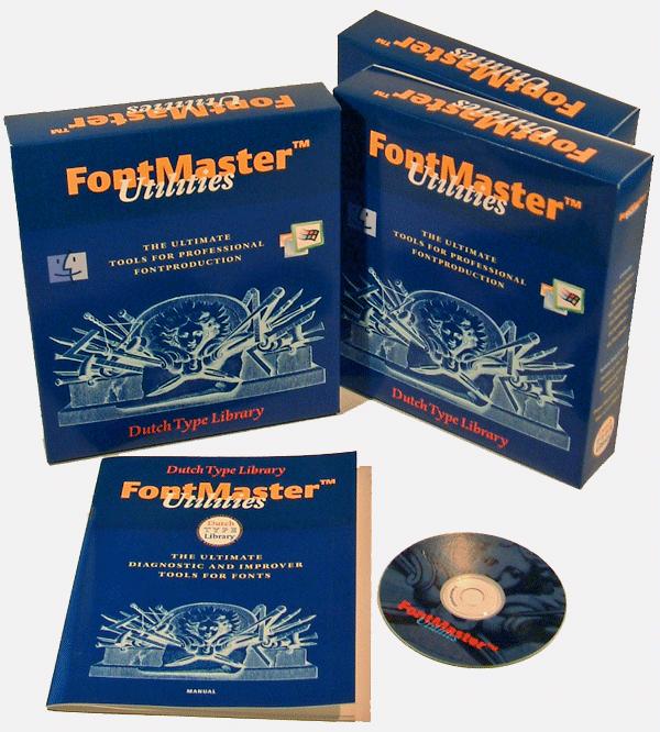 DTL FontMaster packaging
