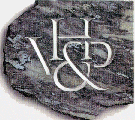 Logo designed and cut in granite by Frank E. Blokland (around 1990)
